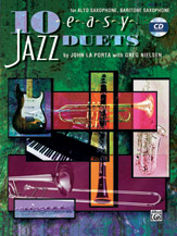 10 EASY JAZZ DUETS: C EDITION ** FYND ** 1 EX