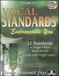 AEBERSOLD VOL 113 EMBRACEABLE YOU - VOCAL STANDARDS