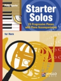 STARTER SOLOS: 20 PROGRESSIVE PIECES - F-HORN