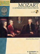 W.A. MOZART: 15 INTERMEDIATE PIANO PIECES