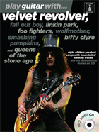 PLAY GUITAR WITH... VELVET REVOLVER, FALL OUT BOY, LINKIN PARK ETC (BOOK AND CD)