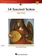 14 SACRED SOLOS - HIGH VOICE