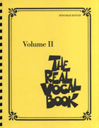 THE REAL VOCAL BOOK VOLUME II - EUROPEAN EDITION