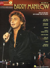 BARRY MANILOW: PRO VOCAL MEN'S EDITION VOLUME 54