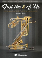 JUST THE 2 OF US - TRUMPET/TROMBONE/EUPHONIUM