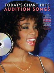 AUDITION SONGS FOR FEMALE SINGERS: TODAY'S CHART HITS