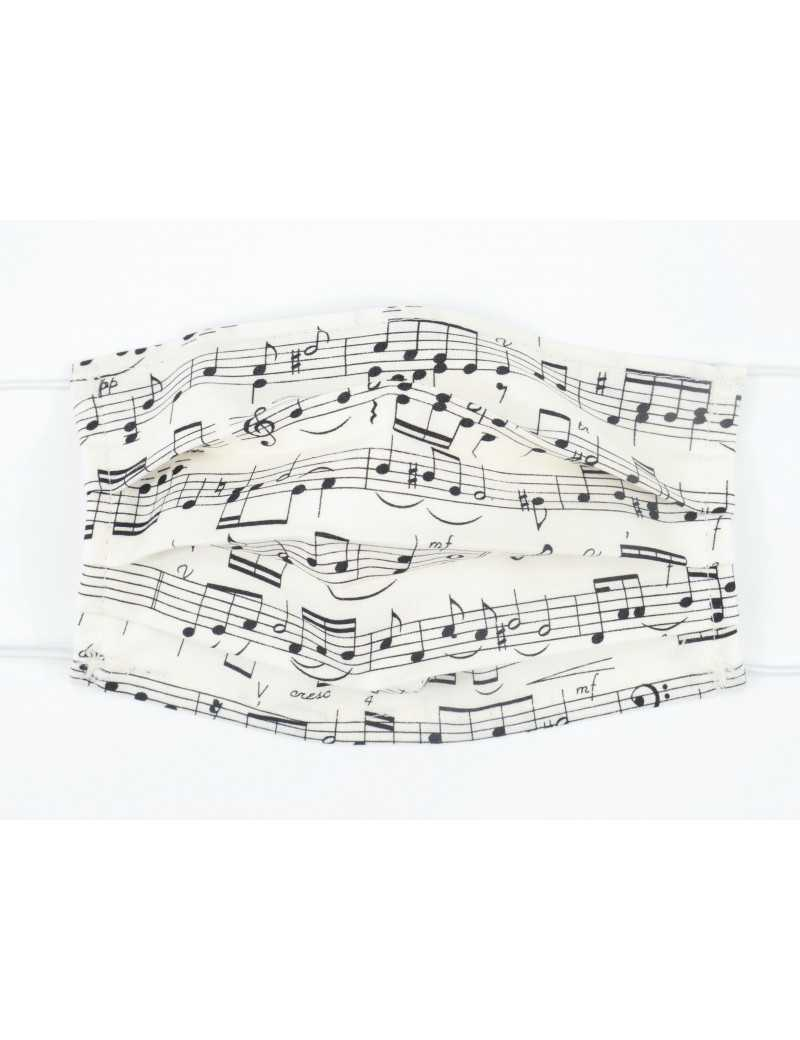 FACE COVERING MUSIC DESIGN 12 (COTTON) 18,5*9,5 CM