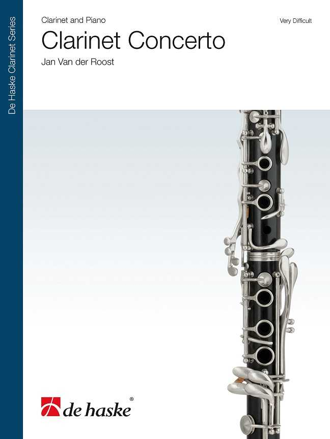 CLARINET CONCERTO: FOR SOLO BB CLARINET AND PIANO