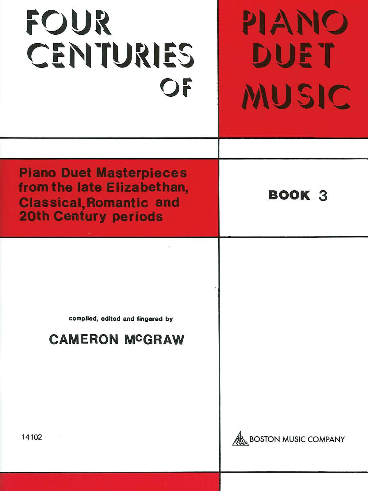 4 CENTURIES OF PIANO DUET MUSIC: BOOK 3