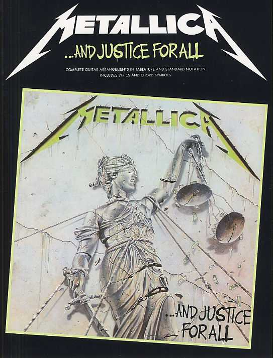 ...AND JUSTICE FOR ALL: GUITAR TAB EDITION