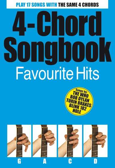 4-CHORD SONGBOOK FAVOURITE HITS
