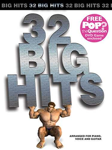 32 BIG HITS (BOOK AND POP THE QUESTION DVD)