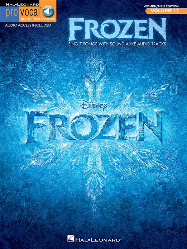 Frozen:  Pro Vocal Mixed Edition Volume 12